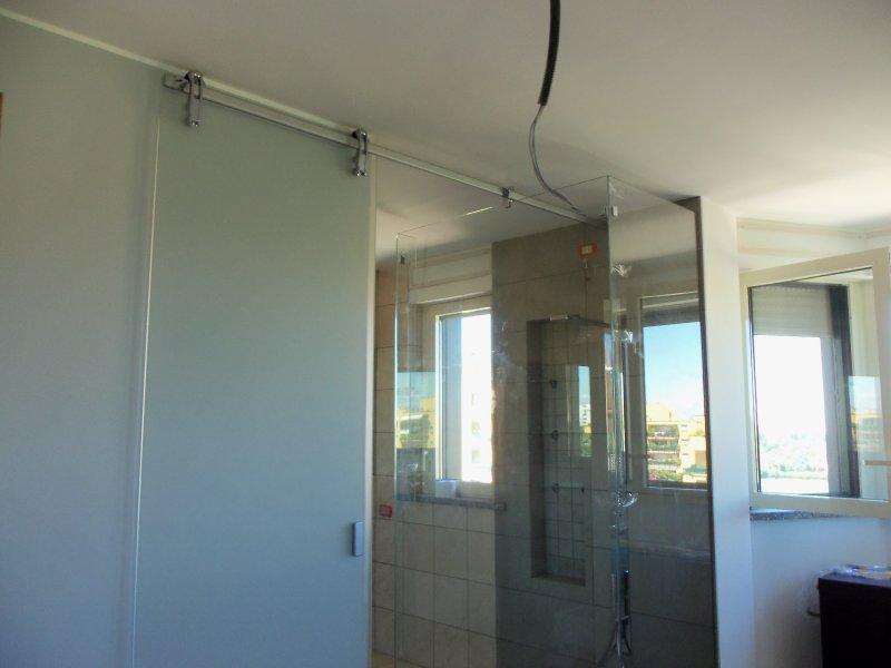 Box doccia vetreria lucania - Doccia senza porta ...